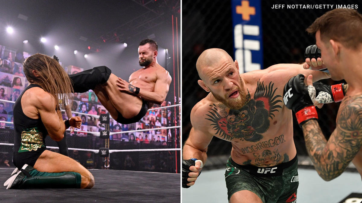 Triple H extended a WWE invite to Conor McGregor after a social media exchange with Finn Bálor