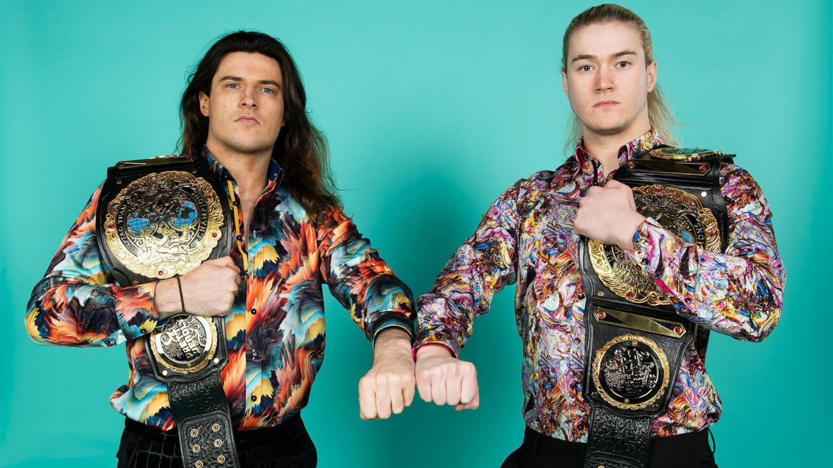 NXT UK Tag Team Champions Pretty Deadly pay homage to iconic sports-entertainment duos with photoshoot