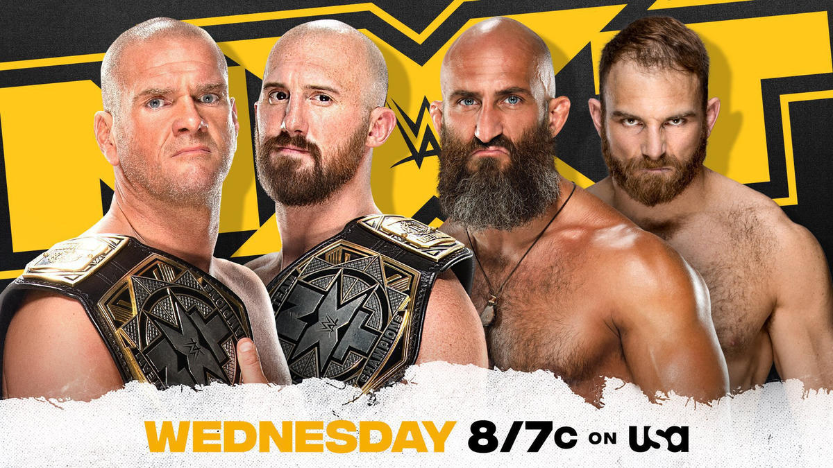 NXT Tag Team Champions Danny Burch & Oney Lorcan set to face Tommaso Ciampa & Timothy Thatcher in non-title bout