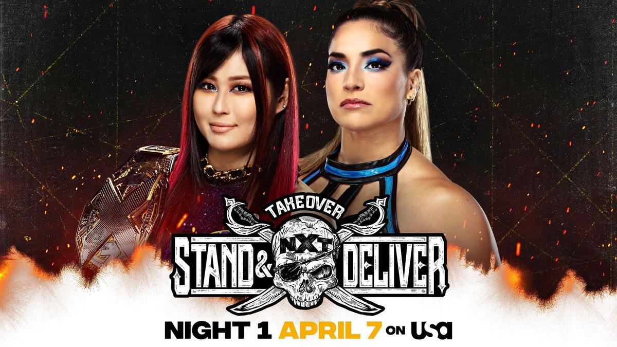 NXT Women's Champion Io Shirai vs. Raquel González