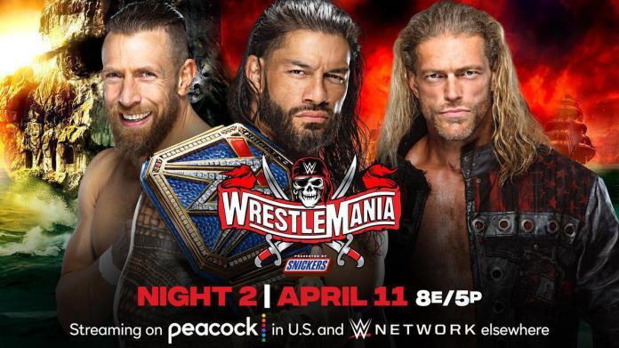 Universal Champion Roman Reigns vs. Edge vs. Daniel Bryan - Triple Threat  Match   WWE