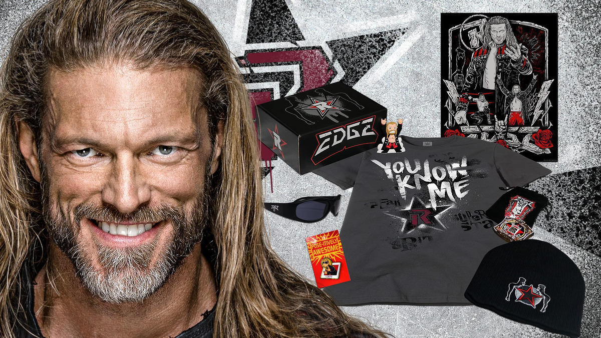 Edge Limited Edition Collector's Box available on WWE Shop