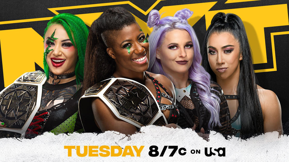 Shotzi Blackheart & Ember Moon to defend NXT Women's Tag Team Titles in Street Fight against The Way