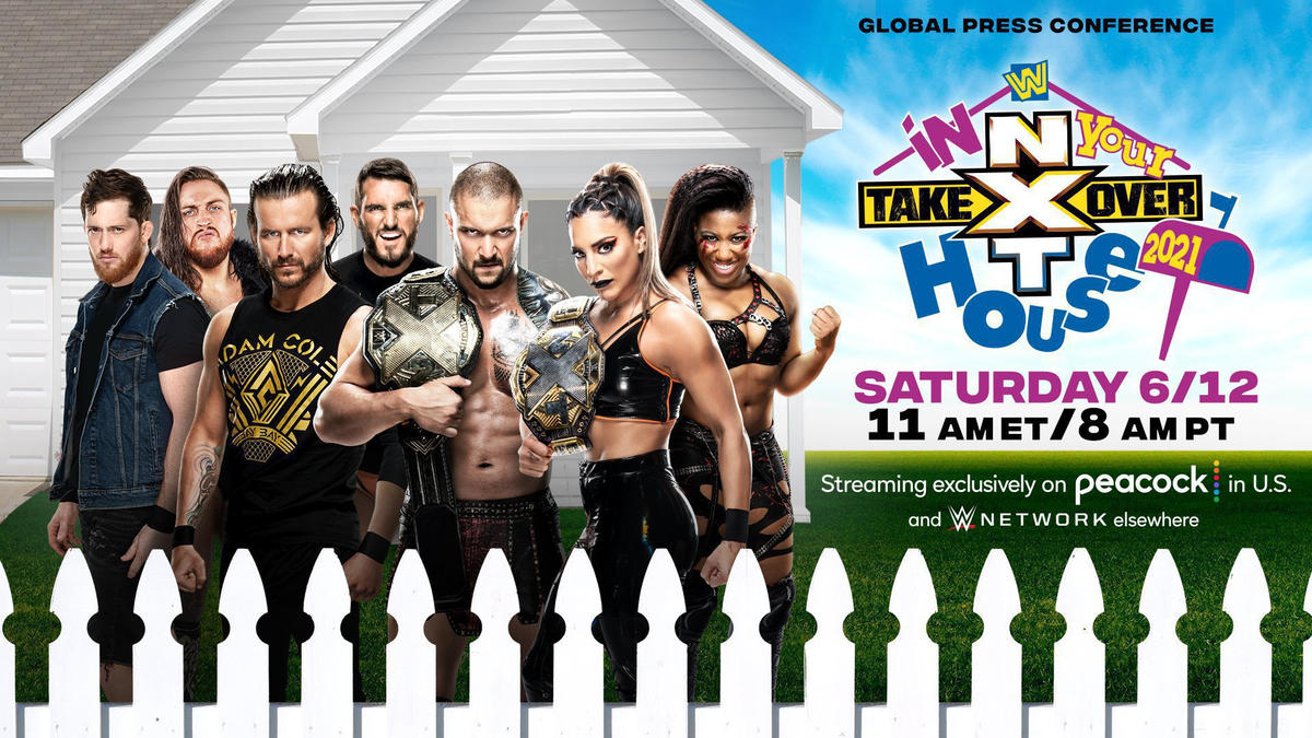 Karrion Kross, Raquel Gonzalez, Ember Moon and more set for Global Press Conference before NXT TakeOver: In Your House