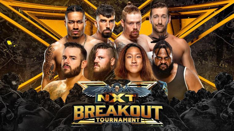 Field announced for 2021 NXT Breakout Tournament