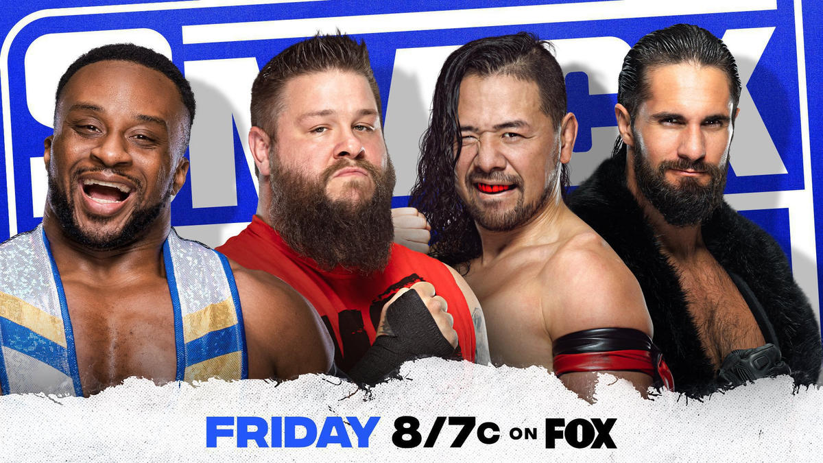 Big E, Kevin Owens, KingShinsuke Nakamura and Seth Rollins collide in a Fatal 4-Way Match