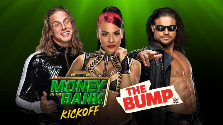 WWE's The Bump, Kickoff Show and more slated for today's WWE Money in the Bank Sunday