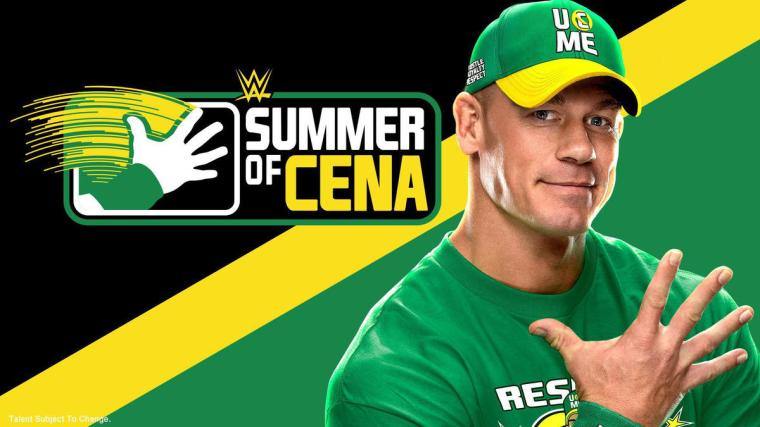 The Summer of Cena has officially arrived