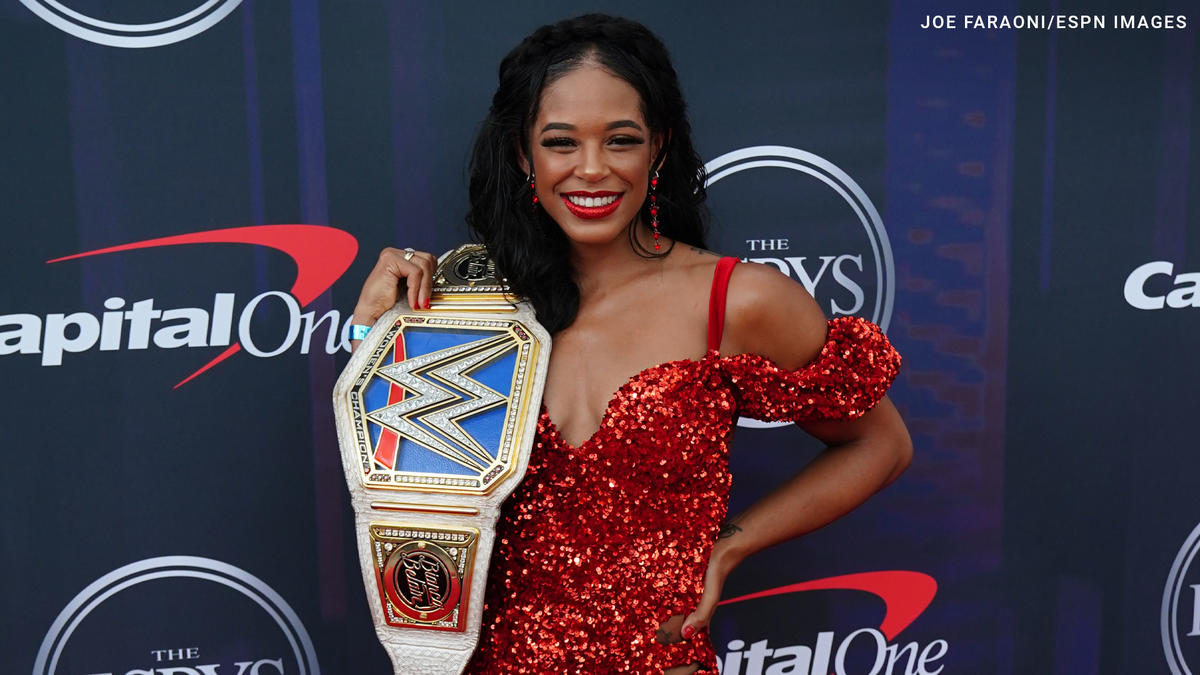 WWE Universe celebrates Bianca Belair and Sasha Banks' ESPYS win