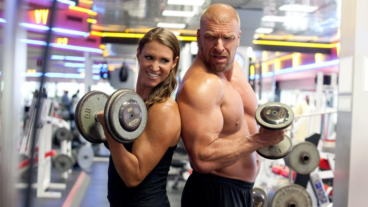 Image result for triple h stephanie mcmahon