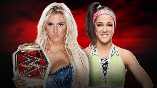 Image result for RAW Women's Championship Charlotte Flair vs. Bayley Royal Rumble