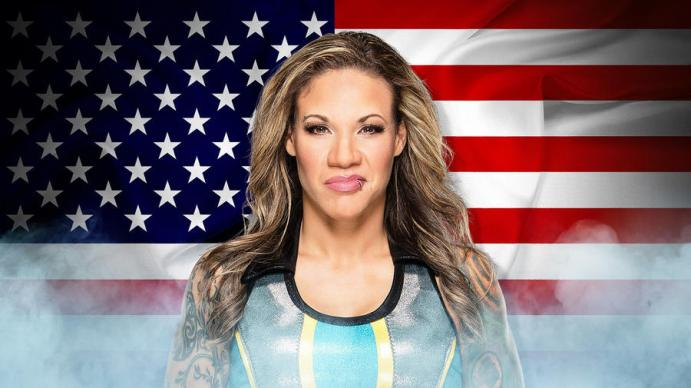 Mercedes Martinez at the Mae Young Classic