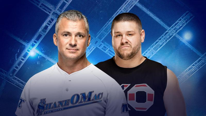 Image result for Hell in a Cell (Falls Count Anywhere): Kevin Owens vs. Shane McMahon Pick: Owens wins