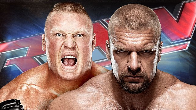 Brock Lesnar and Triple H to go face-to-face