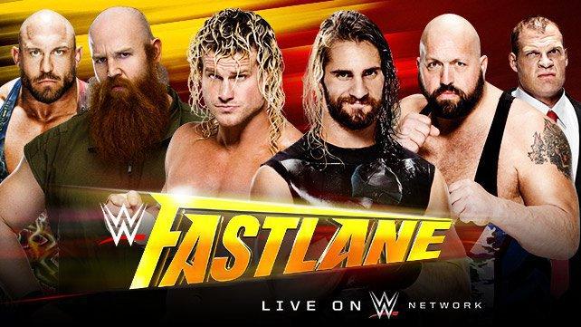 Ryback, Erick Rowan & Dolph Ziggler vs. Seth Rollins, Big Show & Kane