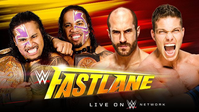 WWE Tag Team Champions The Usos vs. Cesaro & Tyson Kidd