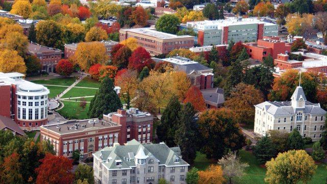 Oregon State University Campus Osu