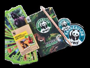 Paquet de bienvenue WWF-Rangerclub