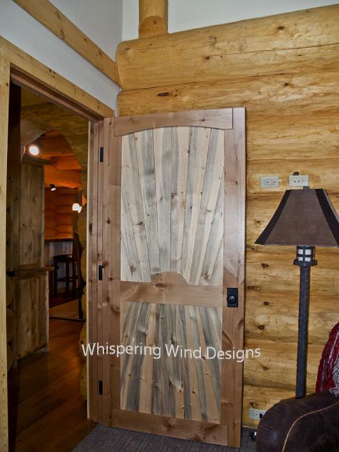 Beetle Kill Pine Alder DoorFrankel 02P1013807