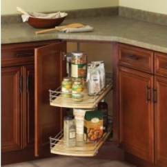 Omega Kitchen Cabinets Stainless Steel Prep Table Lazy Susan Guide - Types Of Susans