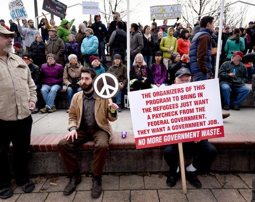 Divided America The Refugee Rift_408562