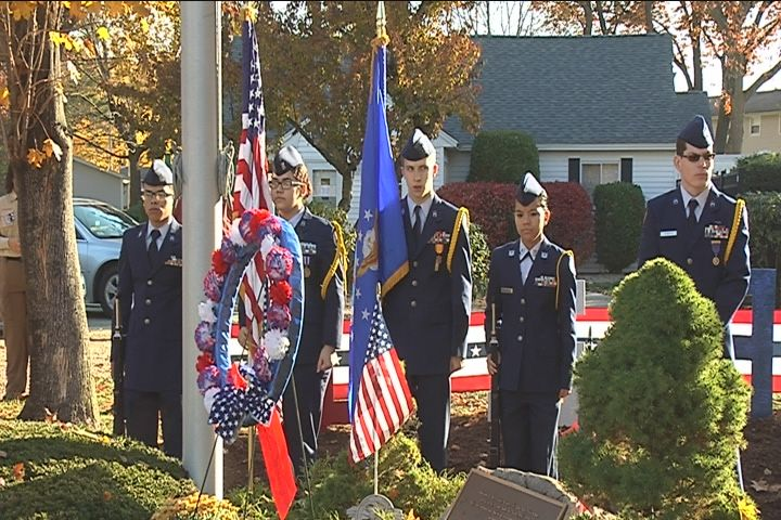 Veterans Day ceremony in Chicopee_497518