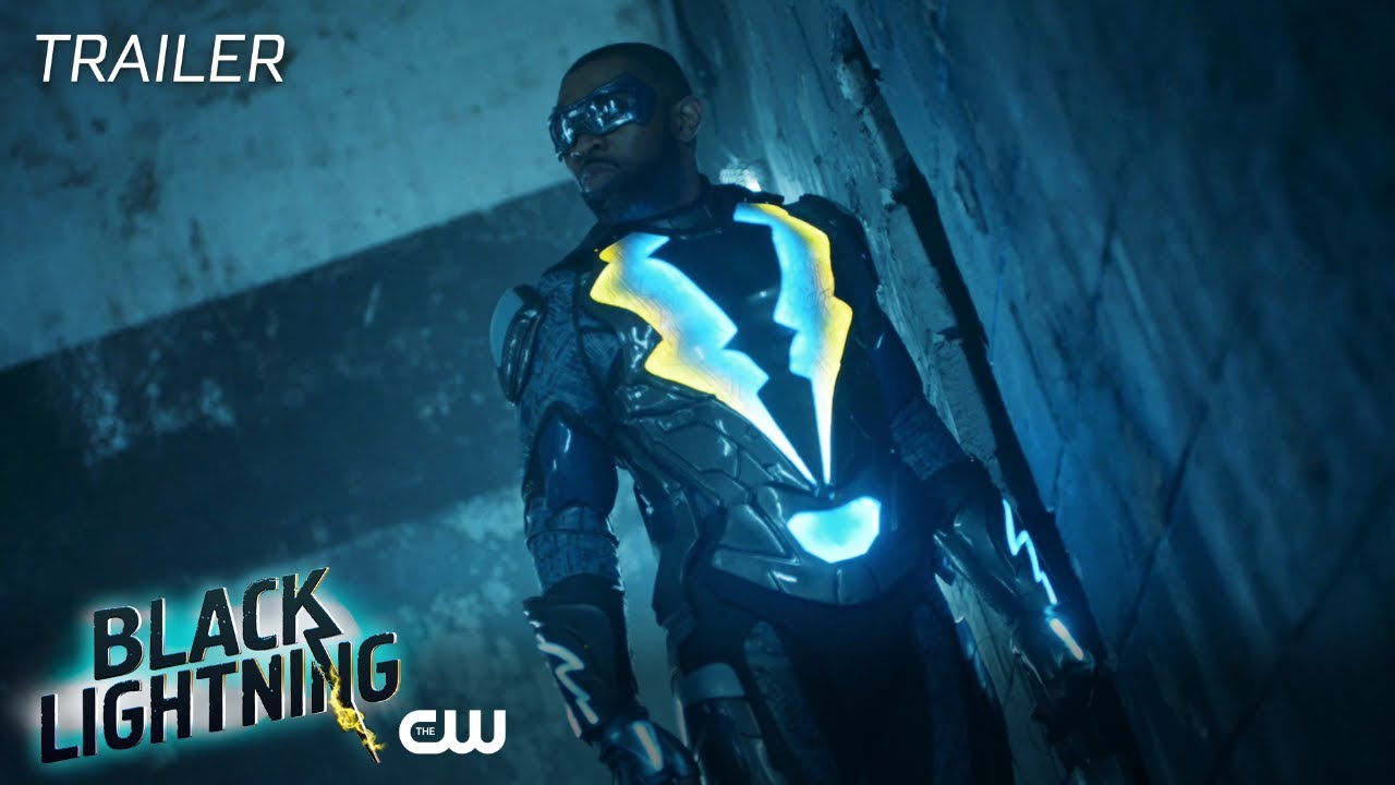 black lightning resurrection and the light trailer