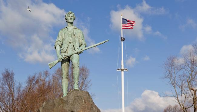 lexington minuteman patriots day_184085