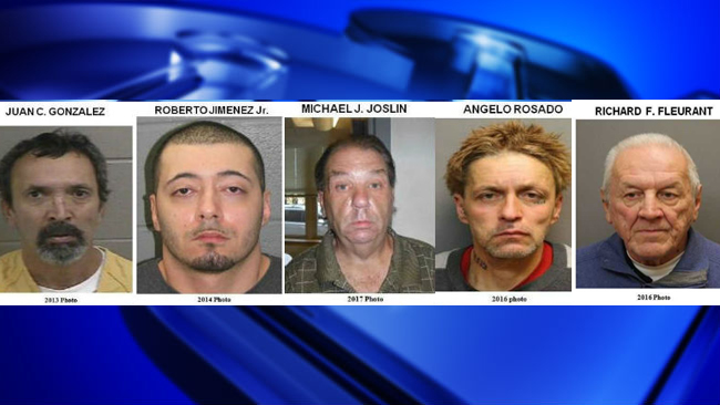 4 men added to Massachusetts State Police Most Wanted Sex