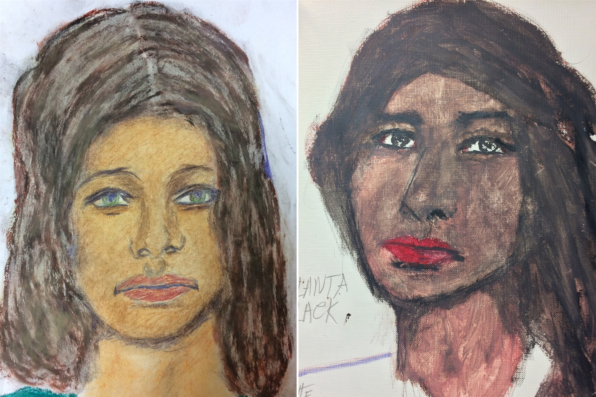 Samuel Little Sketches released by FBI