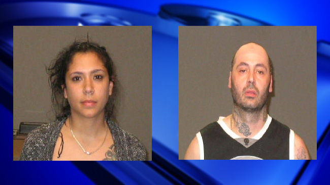 Two facing charges after allegedly creating public