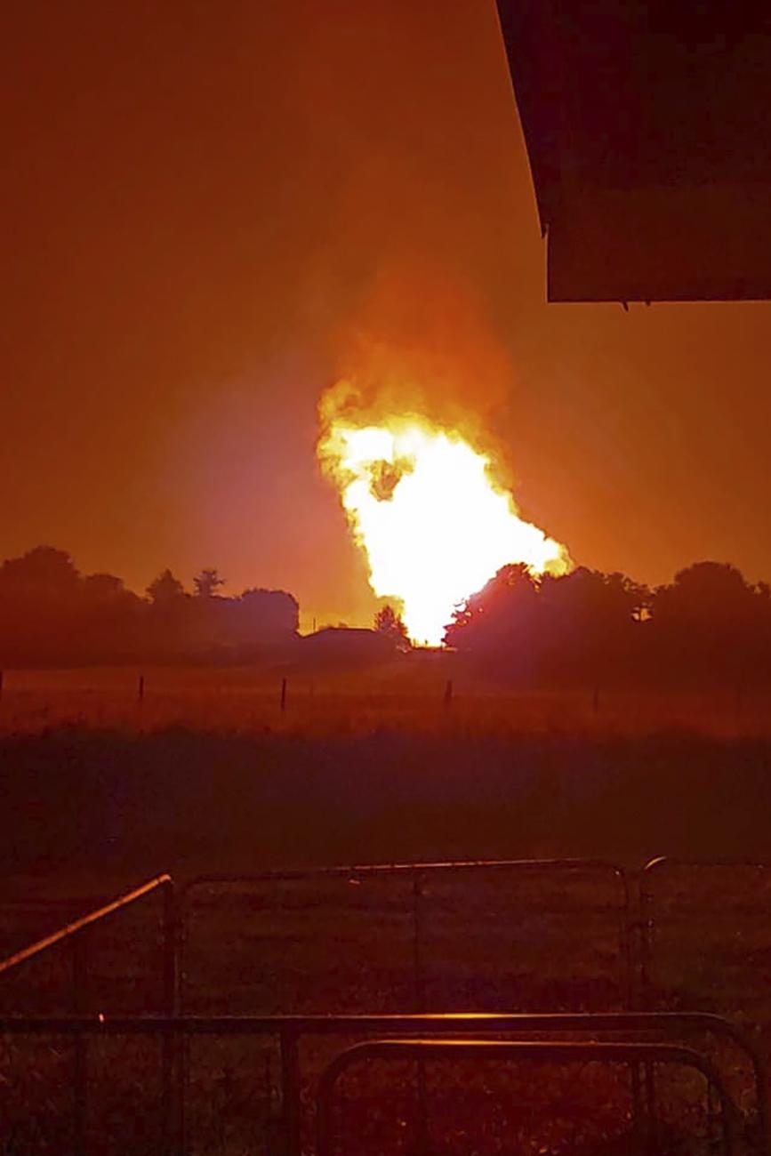 1 dead, 5 injured, 7 missing in Kentucky pipeline explosion