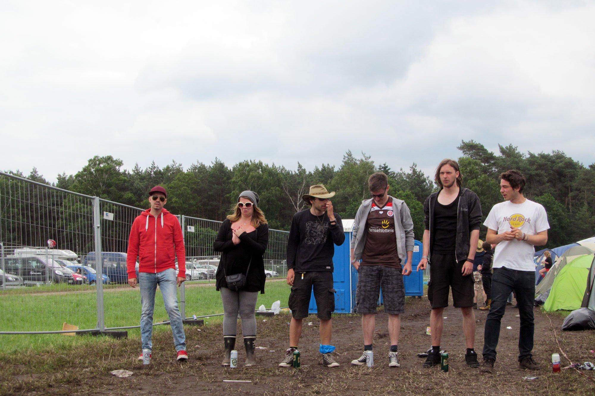 Hurricane Festival: Flunkyball