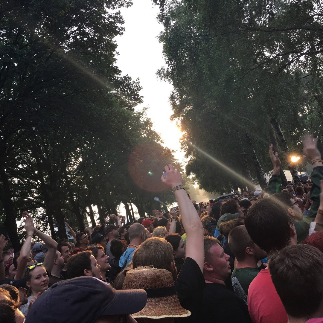 Hurricane Festival 2016: Warten