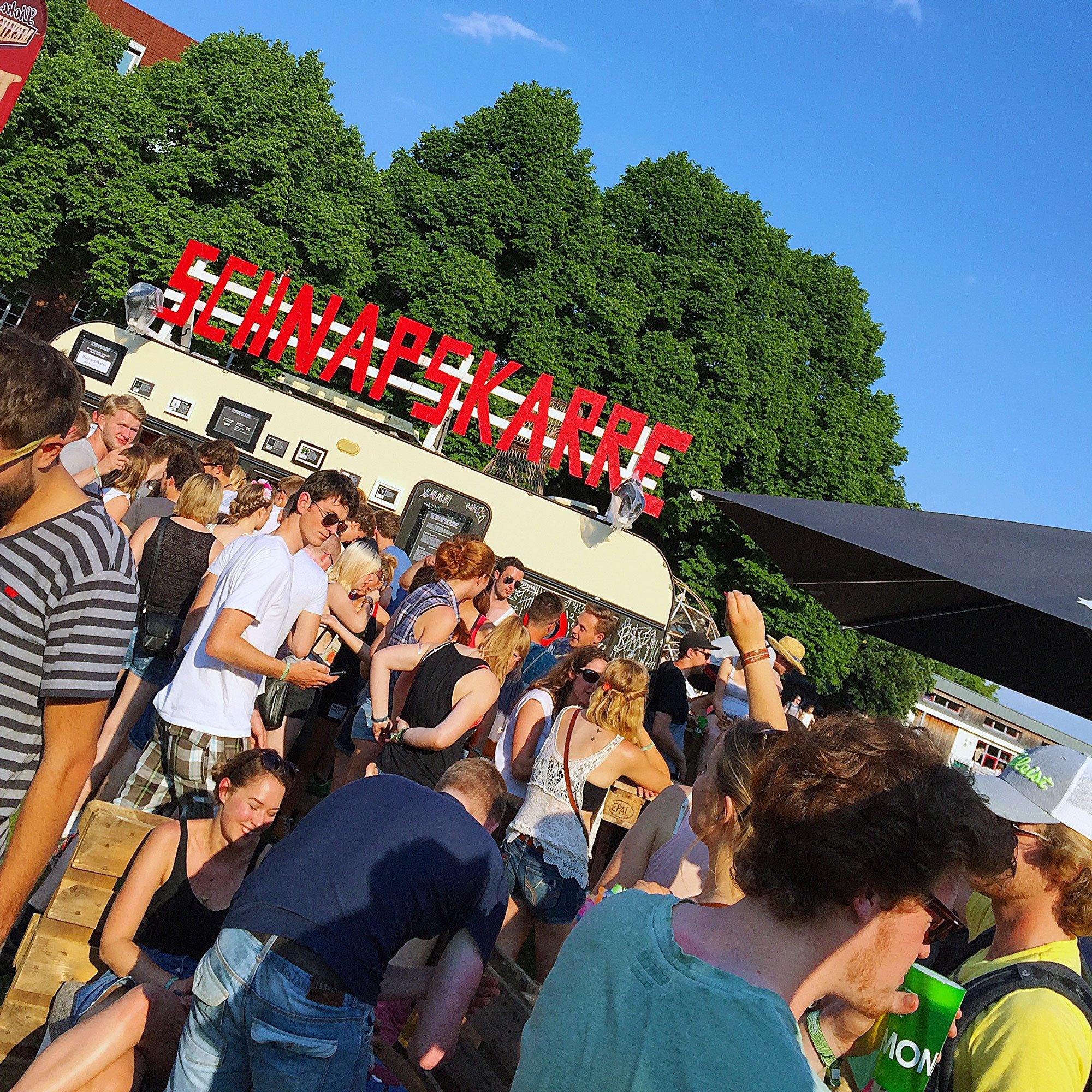 Lunatic Festival: Schnapskarre