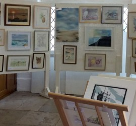 West Wight Painting CircleMembers Easter Exhibition 2018 Yarmouth
