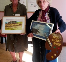 West Wight Painting Circle Cecil Elliott Award Winners 2016