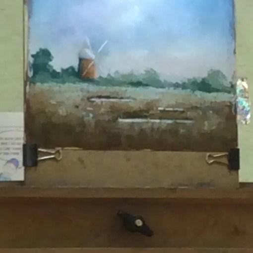 Peter Allen April 2018 WWPC Workshop Pastel Painting