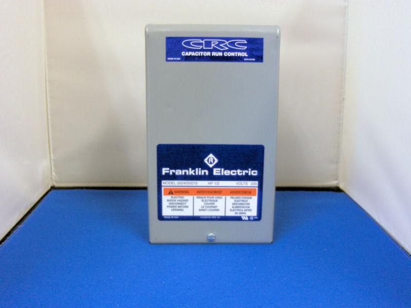 franklin electric well pump control box wiring diagram code 3 mx7000 3/4hp 230v crc
