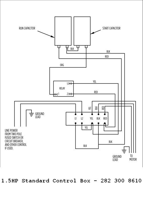 Wiring Diagram Panel Pompa Booster