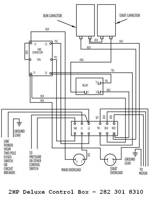 Wiring Diagram For A Franklin Electric Motor