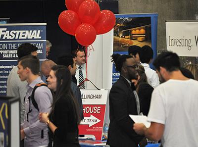 Photo of Fall Business Career Fair