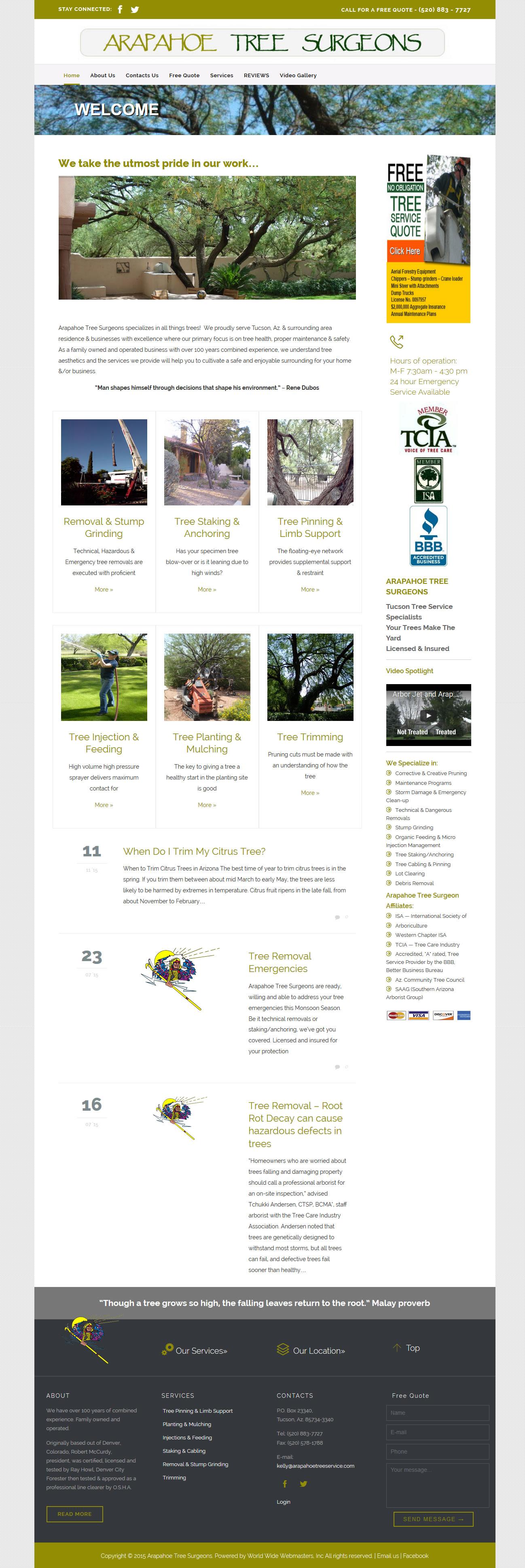 Arapahoe Tree Service