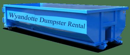 Dumpster Rental Wyandotte MI
