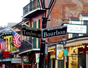 Burbon Street New Orleans