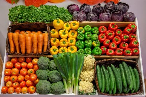 an organic grocery stock