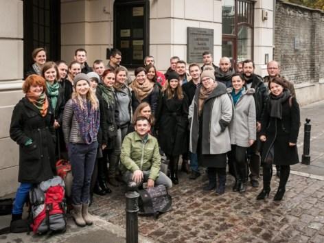 Obserwatorzy krótkoterminowi wyborów lokalnych naUkrainie fot.Mateusz Mularski
