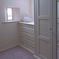 Bedroom storage solution | Wychwood English Interiors