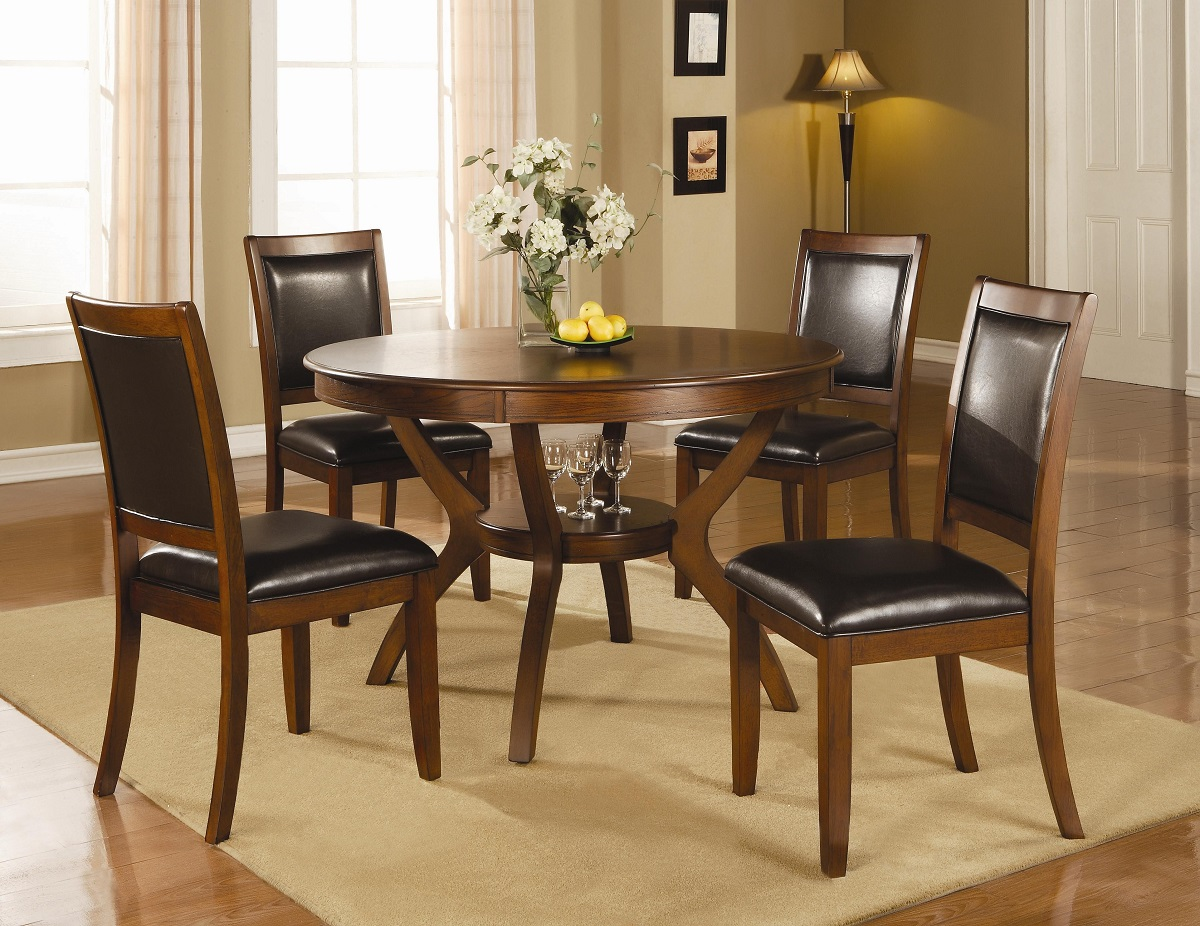leather pub chair hanging transparent furniture outlet, round table, dining table set, chair, chairs, coaster, 102171, 102172
