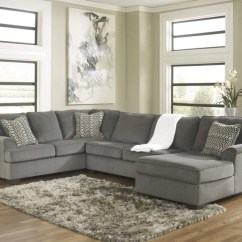 Best Sectional Sofas Los Angeles Phoenix Arizona Loric 12700 Smoke Grey Sofa Living Spaces Ashley ...